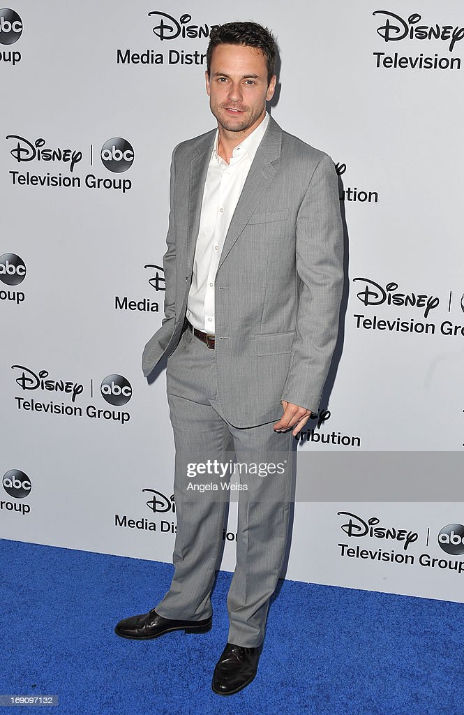 Actor Chris Johnson arrives at the Disney Media Networks International Upfronts at Walt Disney Studios on May 19, 2013 in Burbank, California.