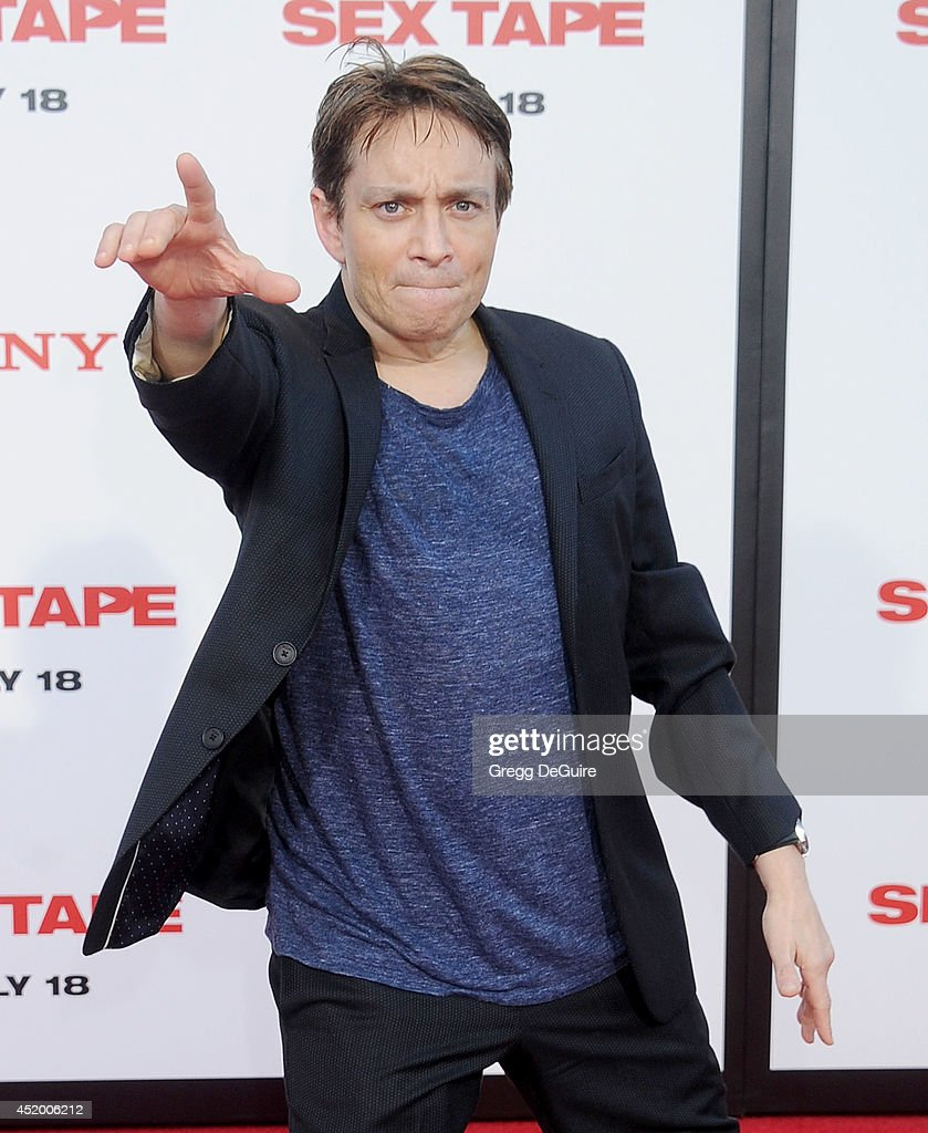 Actor <a gi-track='captionPersonalityLinkClicked' href=/galleries/search?phrase=Chris+Kattan&family=editorial&specificpeople=217709 ng-click='$event.stopPropagation()'>Chris Kattan</a> arrives at the Los Angeles premiere of 'Sex Tape' at Regency Village Theatre on July 10, 2014 in Westwood, California.