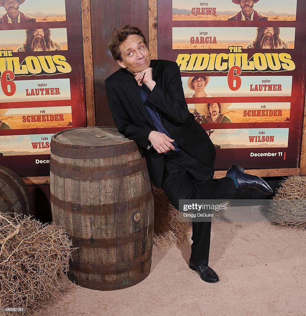 Actor <a gi-track='captionPersonalityLinkClicked' href=/galleries/search?phrase=Chris+Kattan&family=editorial&specificpeople=217709 ng-click='$event.stopPropagation()'>Chris Kattan</a> arrives at the premiere of Netflix's 'The Ridiculous 6' at AMC Universal City Walk on November 30, 2015 in Universal City, California.