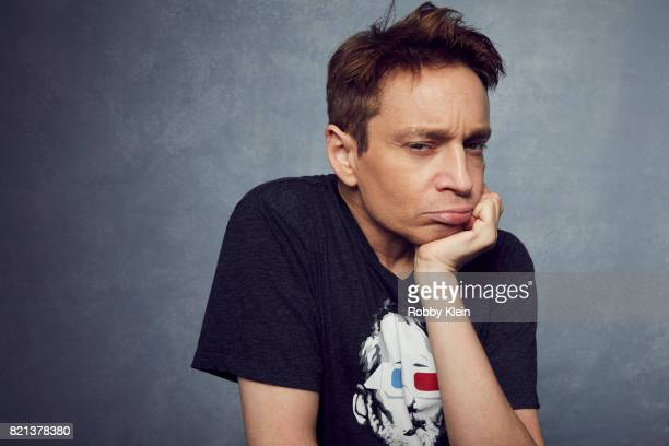 Actor Chris Kattan from SyFy's 'Sharknado 5 Global Swarming' poses for a portrait during ComicCon 2017 at Hard Rock Hotel San Diego on July 21 2017...