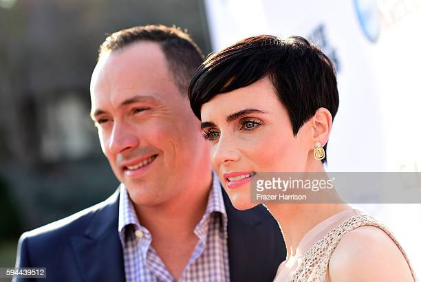 Actor Chris Klein and actress Victoria Summer attend Tea With Victoria Summer at British Consulate General Residence To Benefit Teen Cancer America...