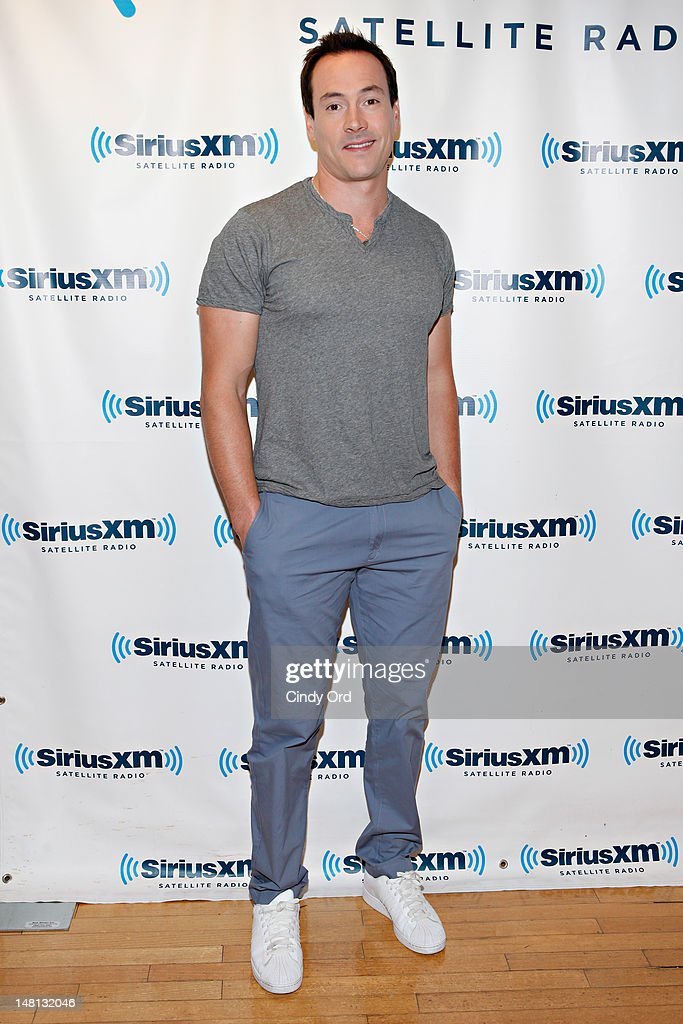 Actor Chris Klein visits the SiriusXM Studio on July 10, 2012 in New York City.