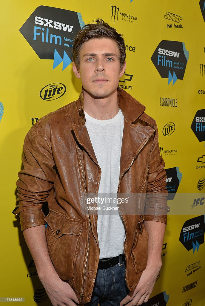 Actor <a gi-track='captionPersonalityLinkClicked' href=/galleries/search?phrase=Chris+Lowell&family=editorial&specificpeople=880311 ng-click='$event.stopPropagation()'>Chris Lowell</a> arrives at the premiere of 'Veronica Mars' during the 2014 SXSW Music, Film + Interactive Festival at the Paramount Theatre on March 8, 2014 in Austin, Texas.