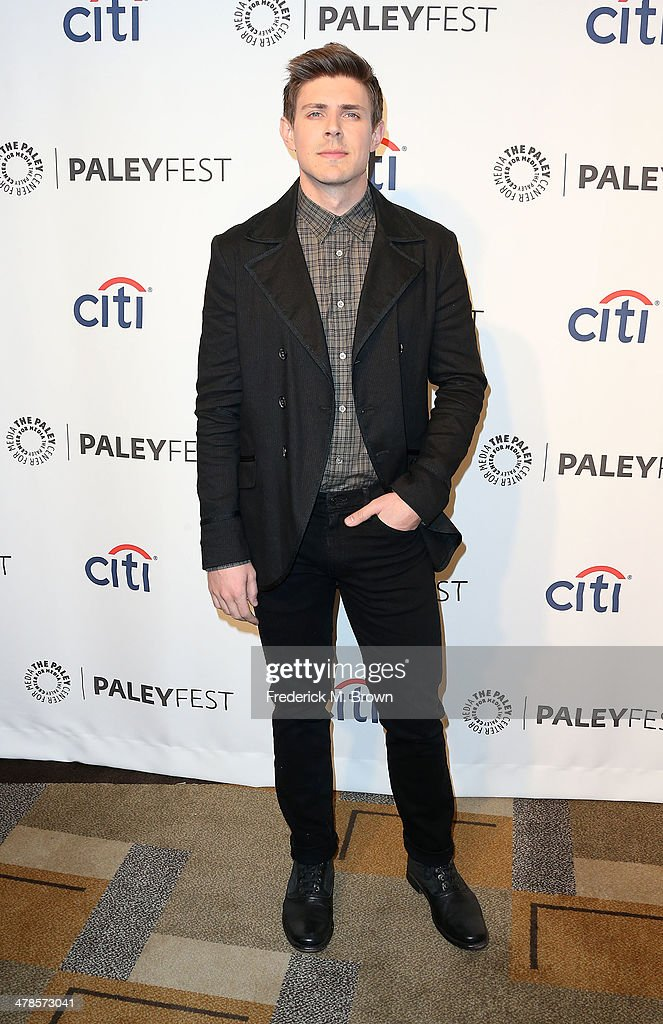 Actor <a gi-track='captionPersonalityLinkClicked' href=/galleries/search?phrase=Chris+Lowell&family=editorial&specificpeople=880311 ng-click='$event.stopPropagation()'>Chris Lowell</a> attends The Paley Center for Media's PaleyFest 2014 Honoring 'Veronica Mars' at the Dolby Theatre on March 13, 2014 in Hollywood, California.