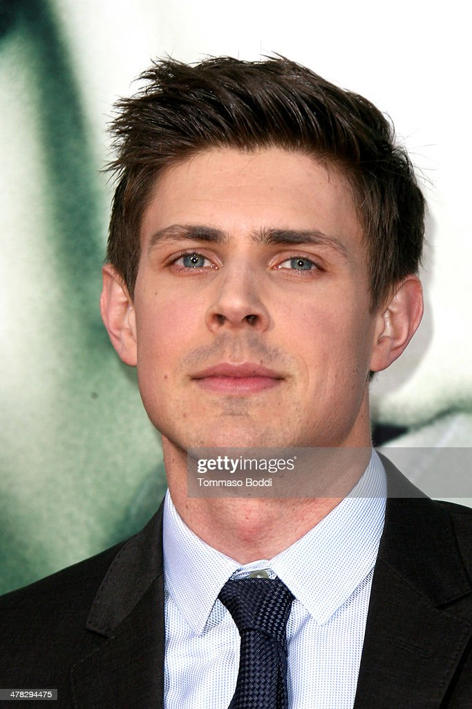 Actor Chris Lowell attends the 'Veronica Mars' Los Angeles premiere held at the TCL Chinese Theatre on March 12 2014 in Hollywood California