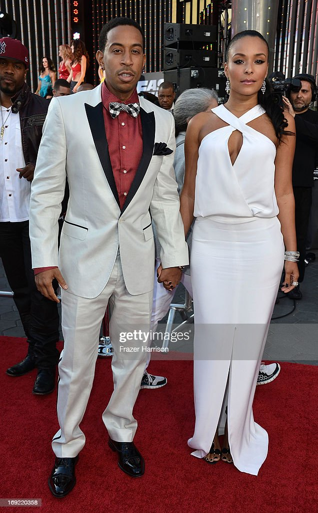 Actor Chris '<a gi-track='captionPersonalityLinkClicked' href=/galleries/search?phrase=Ludacris&family=editorial&specificpeople=203034 ng-click='$event.stopPropagation()'>Ludacris</a>' Bridges arrives at the Premiere Of Universal Pictures' 'Fast & Furious 6' on May 21, 2013 in Universal City, California.