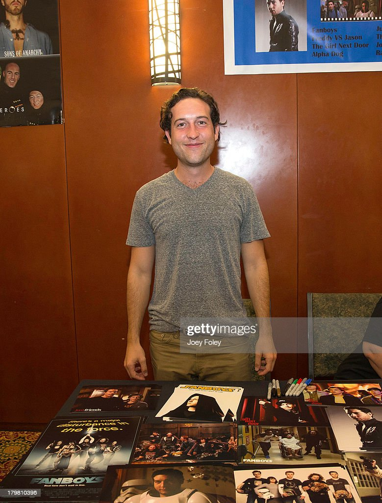Actor <a gi-track='captionPersonalityLinkClicked' href=/galleries/search?phrase=Chris+Marquette&family=editorial&specificpeople=2969089 ng-click='$event.stopPropagation()'>Chris Marquette</a> attends HorrorHound Weekend at Marriott Indianapolis on September 6, 2013 in Indianapolis, Indiana.