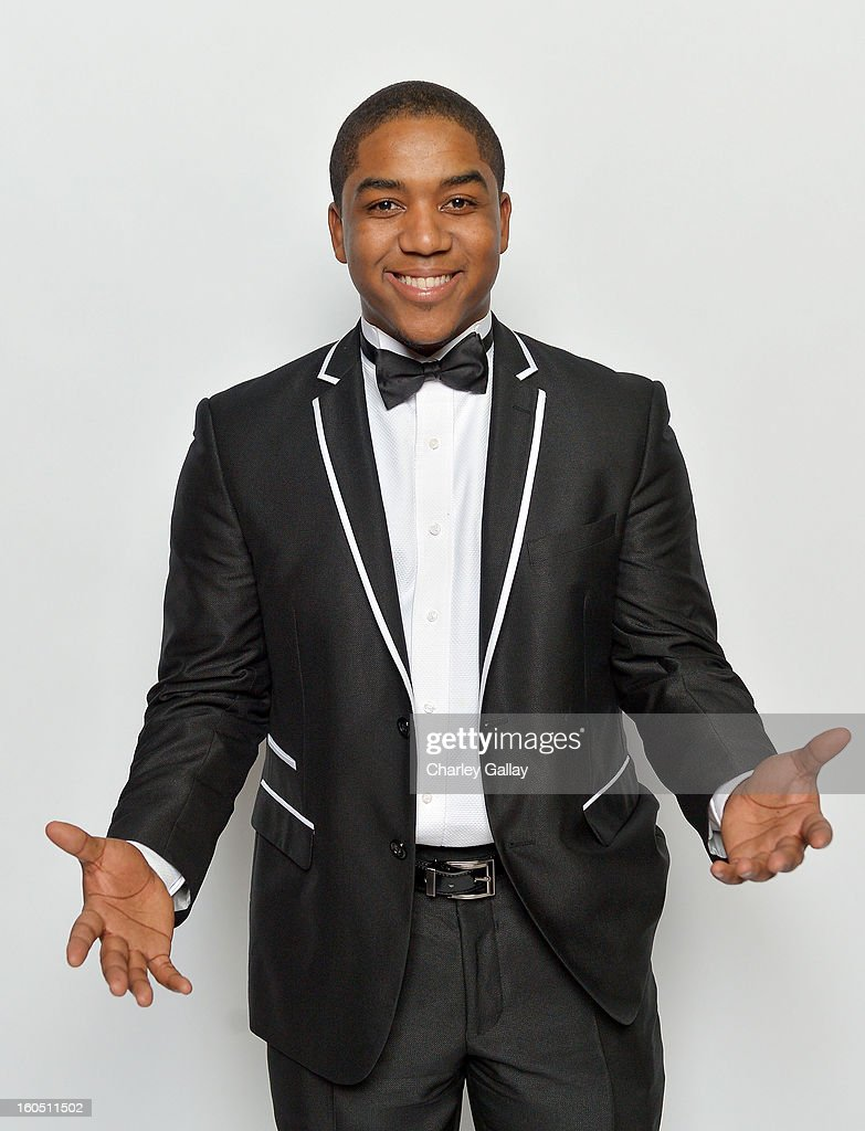 Actor Chris Massey poses for a portrait during the 44th NAACP Image Awards at The Shrine Auditorium on February 1, 2013 in Los Angeles, California.