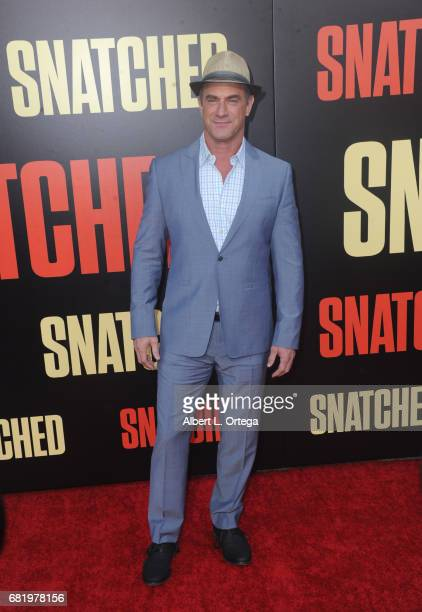 Actor Chris Meloni arrives for the Premiere Of 20th Century Fox's 'Snatched' held at Regency Village Theatre on May 10 2017 in Westwood California