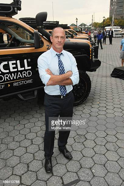 Actor Chris Meloni attends Natural Disaster National Day Of Action Event Hosted By Chris Meloni at Battery Park on September 30 2014 in New York City