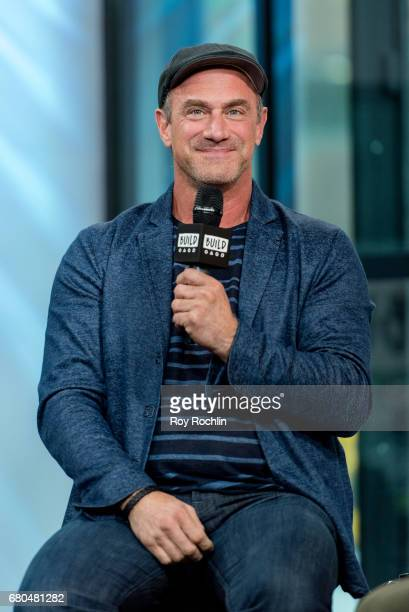 Actor Chris Meloni discuss 'Snatched' with the Build Series at Build Studio on May 8 2017 in New York City