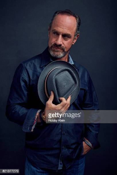 Actor Chris Meloni SYFYs 'Happy poses for a portrait during ComicCon 2017 at Hard Rock Hotel San Diego on July 21 2017 in San Diego California