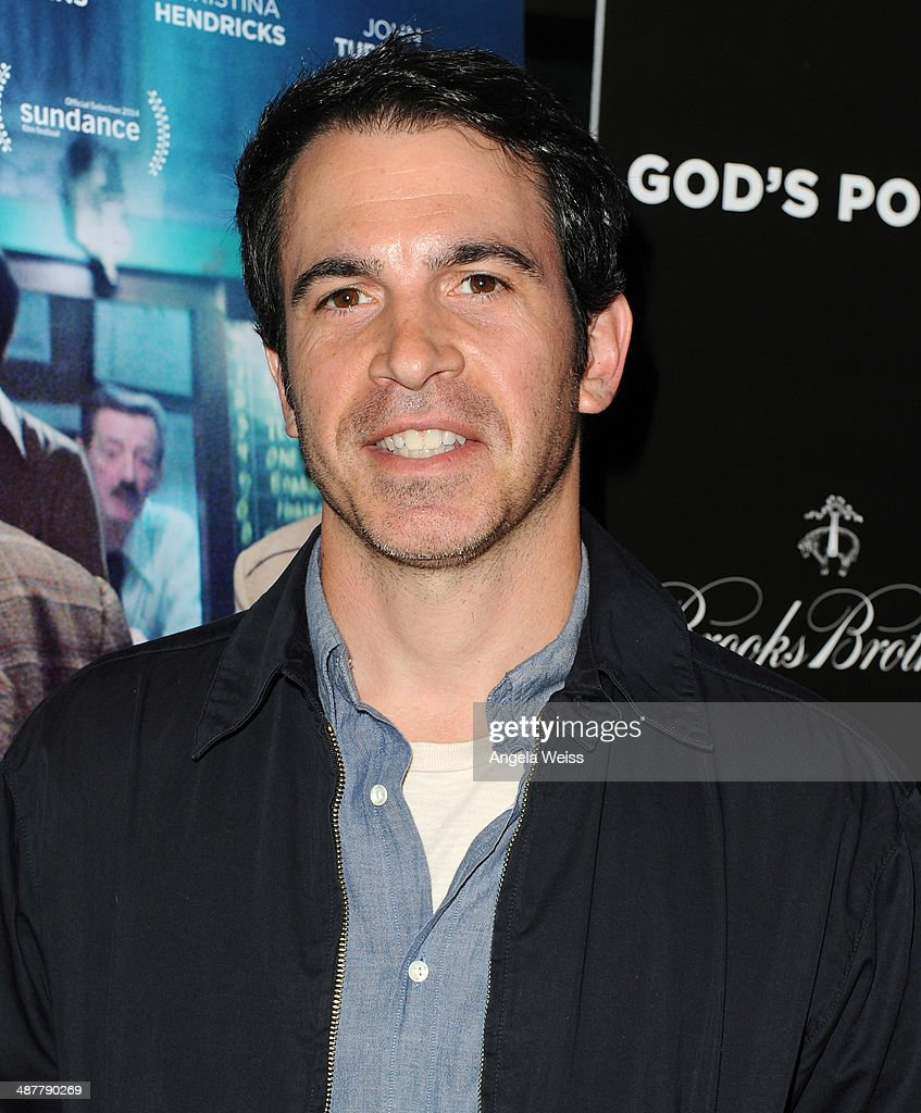 Actor <a gi-track='captionPersonalityLinkClicked' href=/galleries/search?phrase=Chris+Messina&family=editorial&specificpeople=541094 ng-click='$event.stopPropagation()'>Chris Messina</a> arrives at the premiere of IFC Films 'God's Pocket' at LACMA on May 1, 2014 in Los Angeles, California.