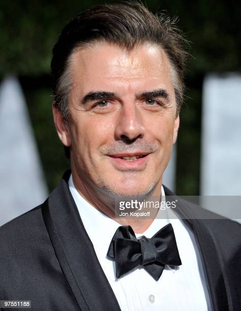 Actor Chris Noth arrives at the 2010 Vanity Fair Oscar Party held at Sunset Tower on March 7 2010 in West Hollywood California