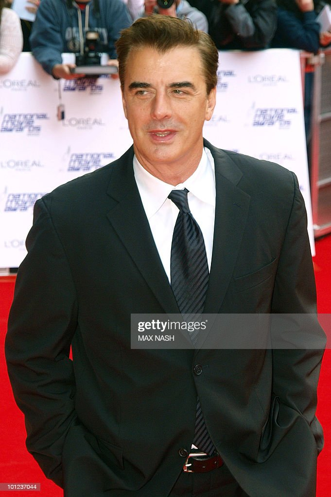 US actor Chris Noth arrives at the National Movie Awards in London's Royal Festival Hall on May 26, 2010. AFP Photo/MAX