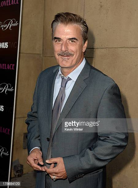 Actor Chris Noth arrives at the premiere of RADiUSTWC's 'Lovelace' at the Egyptian Theatre on August 5 2013 in Hollywood California