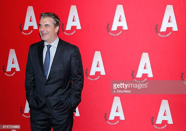 Actor Chris Noth attends the 2014 Atlantic Theater Company's Writers' Choice Gala at The Pierre Hotel on February 24 2014 in New York City