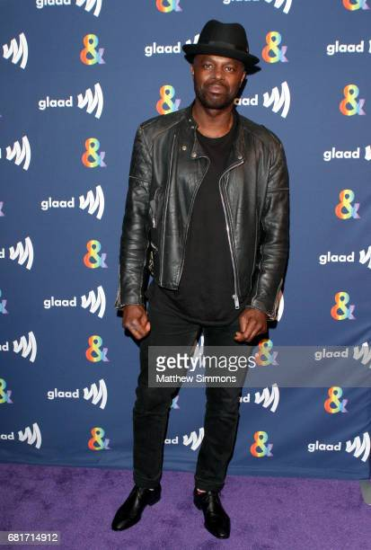 Actor Chris Obi attends STARZ's Presents A Special Screening Of 'American Gods' In Partnership With GLAAD at The Paley Center for Media on May 10...