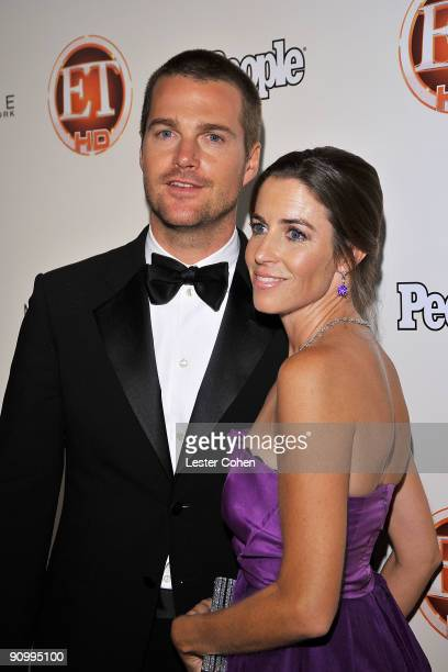 Actor Chris O'Donnell and guest arrive at the 13th Annual Entertainment Tonight and People Magazine Emmys After Party at the Vibiana on September 20...