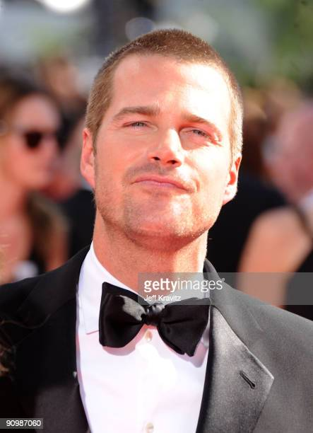 Actor Chris O'Donnell arrives at the 61st Primetime Emmy Awards held at the Nokia Theatre on September 20 2009 in Los Angeles California