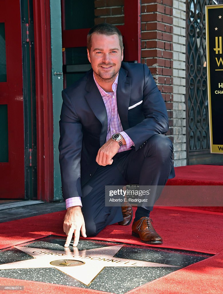Chris O'Donnell Honored On The Hollywood Walk Of Fame