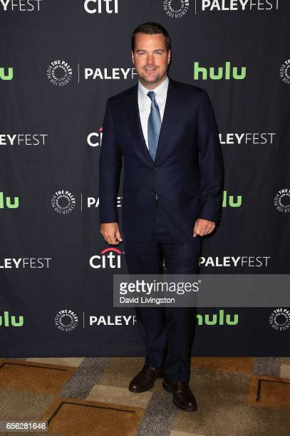 Actor Chris O'Donnell attends The Paley Center for Media's 34th Annual PaleyFest Los Angeles presentation of 'NCIS Los Angeles' at Dolby Theatre on...