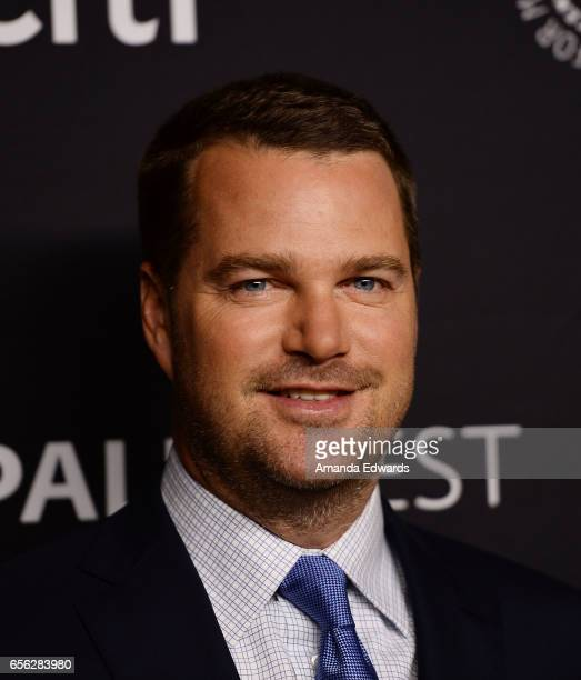 Actor Chris O'Donnell attends The Paley Center For Media's 34th Annual PaleyFest Los Angeles 'NCIS Los Angeles' screening and panel at the Dolby...