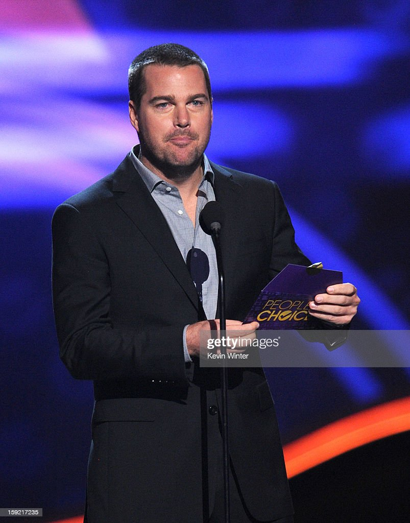 Actor Chris O'Donnell speaks onstage at the 39th Annual People's Choice Awards at Nokia Theatre L.A. Live on January 9, 2013 in Los Angeles, California.