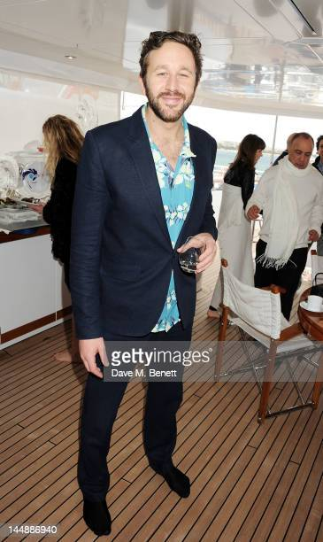 Actor Chris O'Dowd attends a lunch hosted by Len Blavatnik Harvey Weinstein and Warner Music during the 65th Cannes Film Festival on board the Odessa...