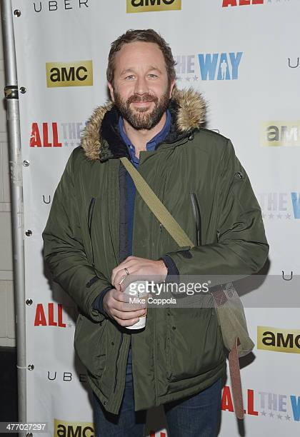 MARCH 06 Actor Chris O'Dowd attends 'All The Way' opening night at Neil Simon Theatre on March 6 2014 in New York City