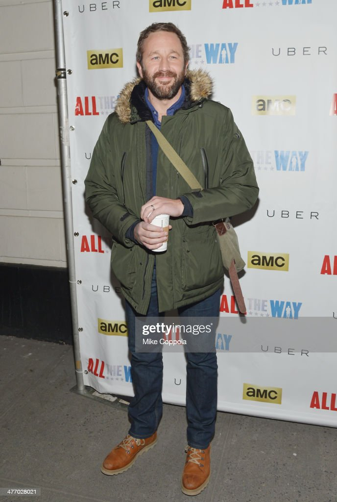 Actor <a gi-track='captionPersonalityLinkClicked' href=/galleries/search?phrase=Chris+O%27Dowd&family=editorial&specificpeople=814031 ng-click='$event.stopPropagation()'>Chris O'Dowd</a> attends 'All The Way' opening night at Neil Simon Theatre on March 6, 2014 in New York City.