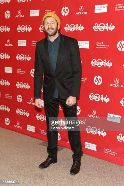 Actor Chris O'Dowd attends the 'Cavalry' premiere at Eccles Center Theatre during the 2014 Sundance Film Festival on January 19 2014 in Park City Utah
