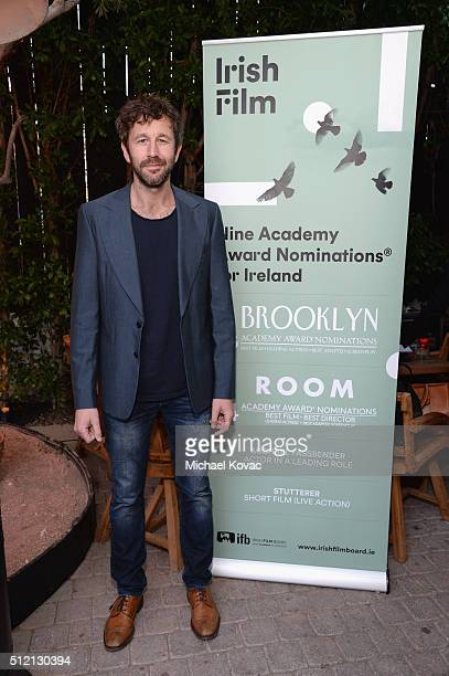 Actor Chris O'Dowd attends The Irish Film Board and IDA celebrating the success of Irish cinema at Laurel Hardware on February 24 2016 in West...