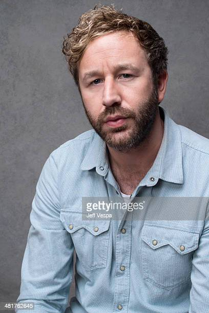 Actor Chris O'Dowd is photographed at the Sundance Film Festival 2014 for Self Assignment on January 25 2014 in Park City Utah