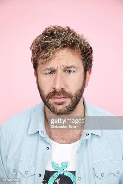 Actor Chris O'Dowd is photographed for Entertainment Weekly Magazine on January 25 2014 in Park City Utah
