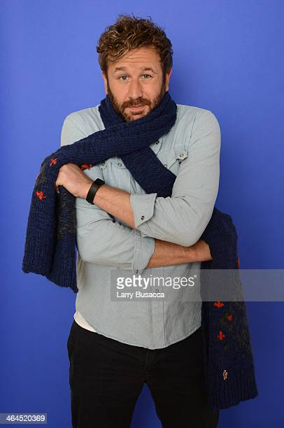 Actor Chris O'Dowd poses for a portrait during the 2014 Sundance Film Festival at the WireImage Portrait Studio at the Village At The Lift Presented...
