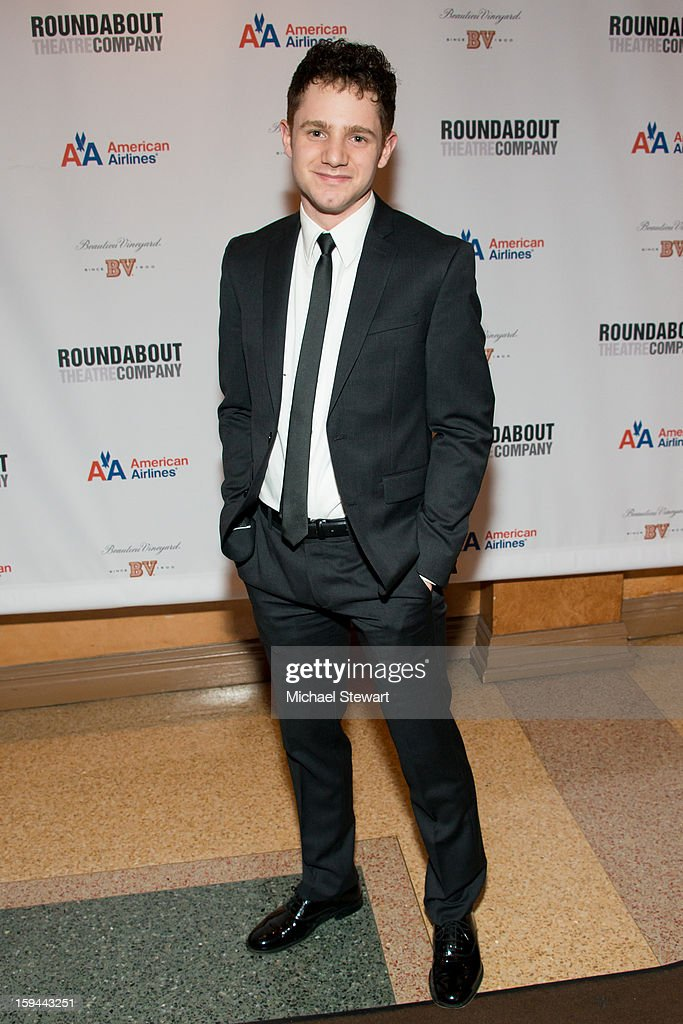 Actor Chris Perfetti attends 'Picnic' Broadway Opening Night at American Airlines Theatre on January 13, 2013 in New York City.