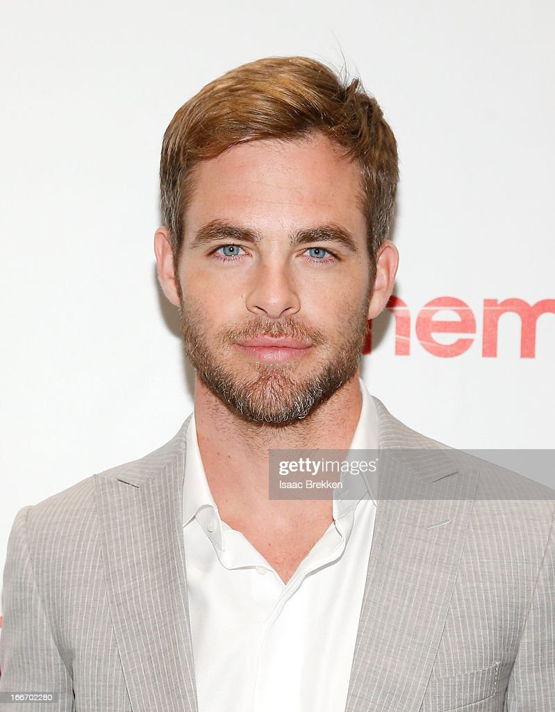 Actor Chris Pine arrives at a Paramount Pictures presentation to promote his upcoming film, 'Star Trek Into Darkness' during CinemaCon at Caesars Palace on April 15, 2013 in Las Vegas, Nevada.