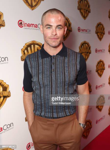 "Actor Chris Pine at CinemaCon 2017 Warner Bros Pictures Invites You to ""The Big Picture"" an Exclusive Presentation of our Upcoming Slate at The..."