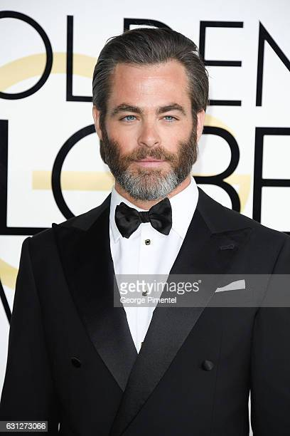 Actor Chris Pine attends 74th Annual Golden Globe Awards held at The Beverly Hilton Hotel on January 8 2017 in Beverly Hills California