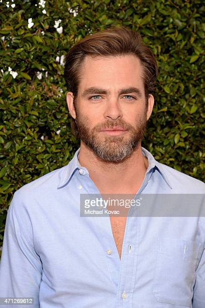 Actor Chris Pine attends Chrysler John Varvatos 12th Annual Stuart House Benefit at John Varvatos on April 26 2015 in Los Angeles California