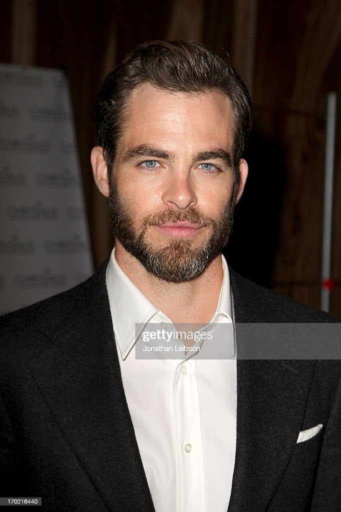 Actor Chris Pine attends the 12th Annual Chrysalis Butterfly Ball on June 8, 2013 in Los Angeles, California.