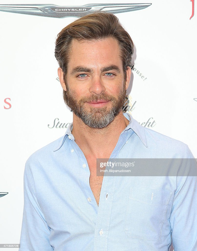 Actor <a gi-track='captionPersonalityLinkClicked' href=/galleries/search?phrase=Chris+Pine&family=editorial&specificpeople=641995 ng-click='$event.stopPropagation()'>Chris Pine</a> attends the 12th Annual John Varvatos Stuart House Benefit at John Varvatos on April 26, 2015 in Los Angeles, California.