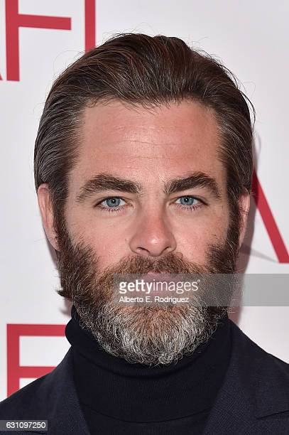 Actor Chris Pine attends the 17th annual AFI Awards at Four Seasons Los Angeles at Beverly Hills on January 6 2017 in Los Angeles California