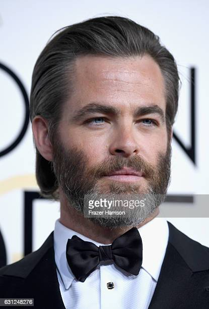 Actor Chris Pine attends the 74th Annual Golden Globe Awards at The Beverly Hilton Hotel on January 8 2017 in Beverly Hills California