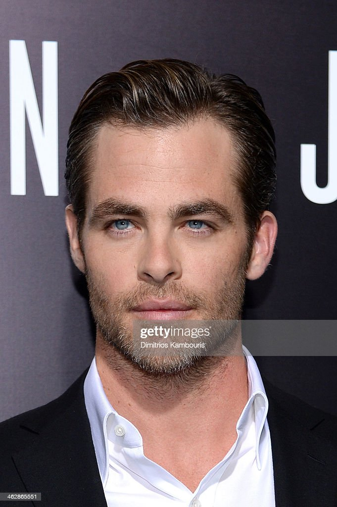 Actor <a gi-track='captionPersonalityLinkClicked' href=/galleries/search?phrase=Chris+Pine&family=editorial&specificpeople=641995 ng-click='$event.stopPropagation()'>Chris Pine</a> attends the premiere of Paramount Pictures' 'Jack Ryan: Shadow Recruit' at TCL Chinese Theatre on January 15, 2014 in Hollywood, California.