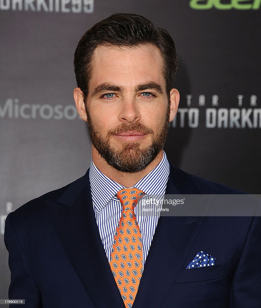 Actor <a gi-track='captionPersonalityLinkClicked' href=/galleries/search?phrase=Chris+Pine&family=editorial&specificpeople=641995 ng-click='$event.stopPropagation()'>Chris Pine</a> attends the premiere of 'Star Trek Into Darkness' at Dolby Theatre on May 14, 2013 in Hollywood, California.