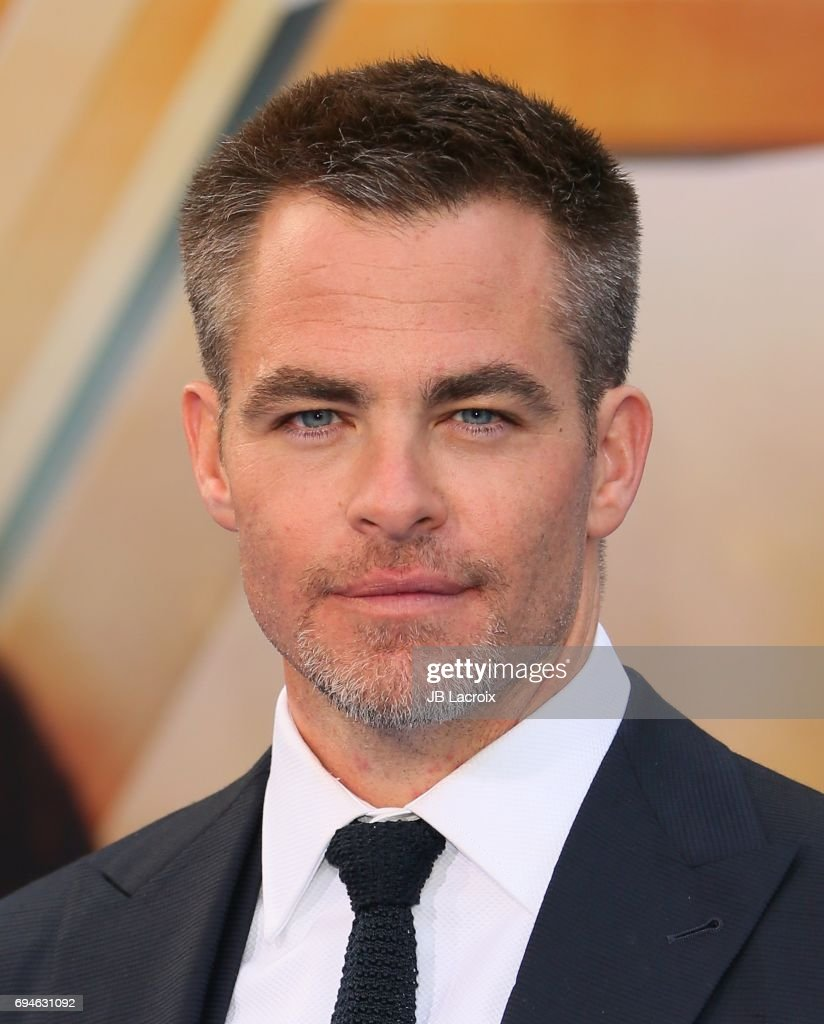 Actor Chris Pine attends the premiere of Warner Bros. Pictures' 'Wonder Woman' at the Pantages Theatre on May 25, 2017 in Hollywood, California.