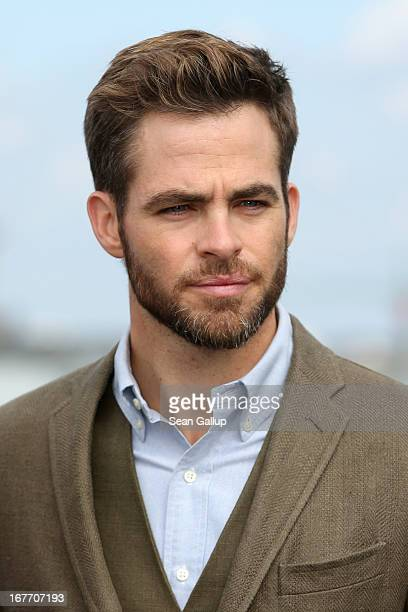 Actor Chris Pine attends the 'Star Trek Into Darkness' Photocall at China Club on April 28 2013 in Berlin Germany