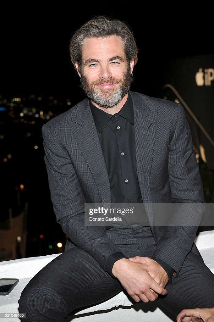 Actor Chris Pine attends W Magazine Celebrates the Best Performances Portfolio and the Golden Globes with Audi and Moet & Chandon at Chateau Marmont on January 5, 2017 in Los Angeles, California.